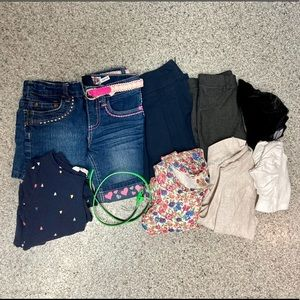 4/5 girls lot of 11 clothing items